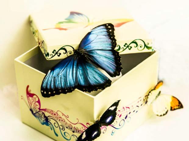 Бабочка в подарок для дома